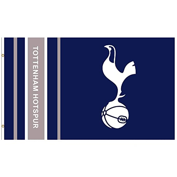 Tottenham Hotspur Bunting Colours 10 Mtr White And Navy Flags