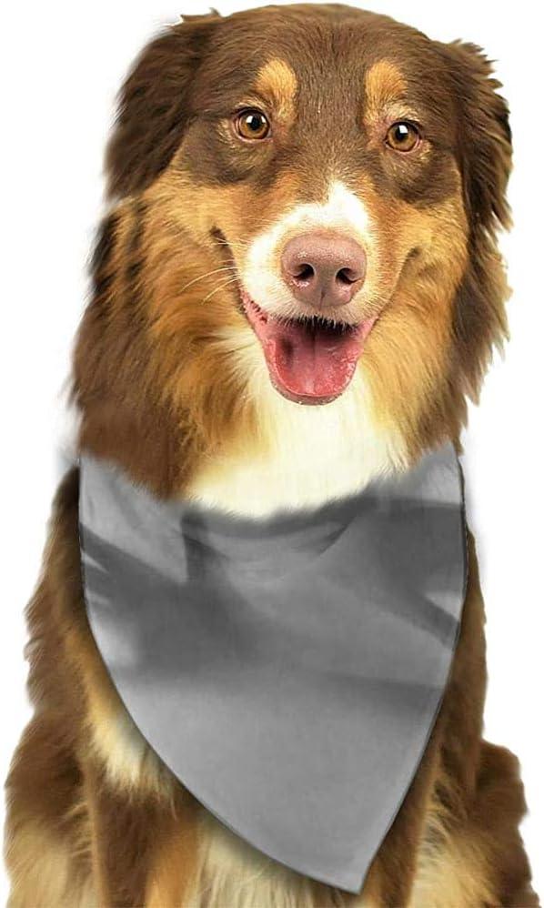 YAGEAD Pañuelo para Perros Cachorro y pañuelos para Mascotas, Personas Que se protegen ciegas Sombras de Manos etéreas Miedo detrás de la Cerca Bufanda para Mascotas