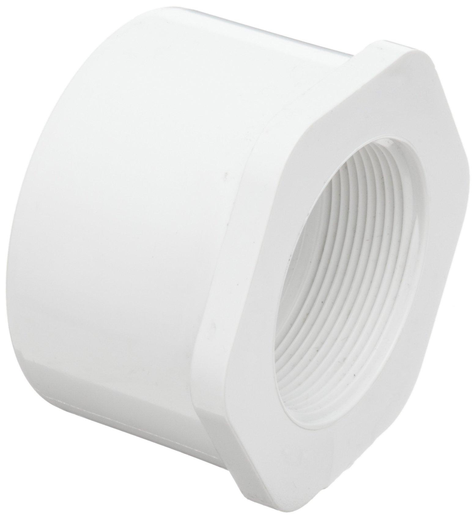 Flowline LM52-2410 PVC Reducer Bushing, 3'' Slip x 2'' NPT Thread