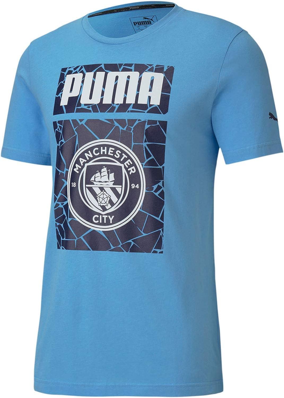 PUMA Men's Manchester City Ftblcore Graphic Tee