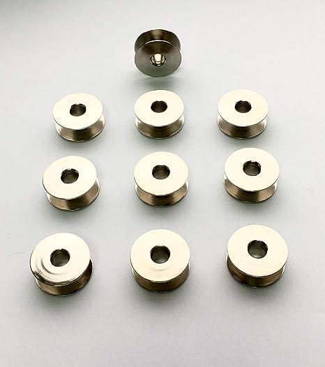 Bobina para Máquina de Coser Industrial, 10 Unidades para Brother, Juki y Más