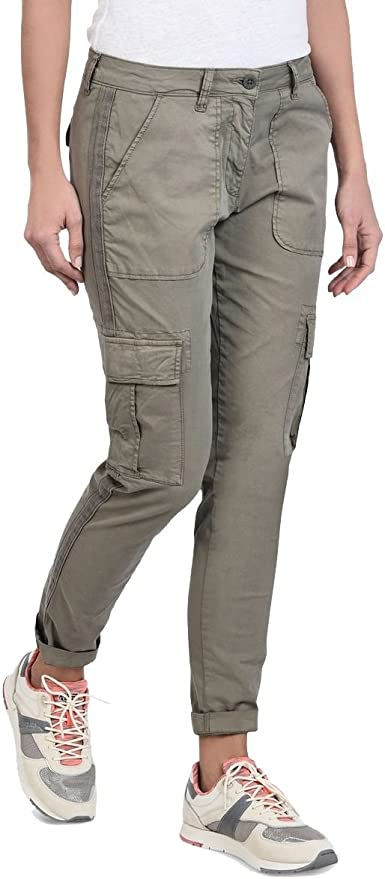 NAPAPIJRI - Pantalons Treillis Femmes - N0