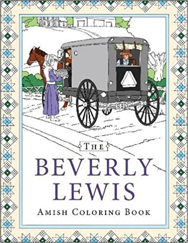 amazoncom the beverly lewis amish coloring book 9780764230462 beverly lewis books