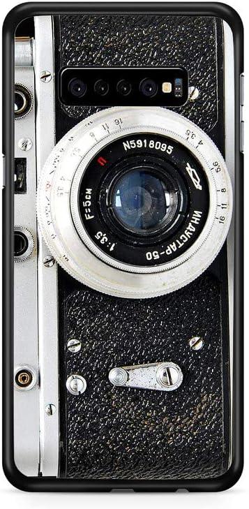 Kaidan Samsung Galaxy S9 S8 Plus Note 9 8 S10 + Black and White S10 Lite S10e Case Old Camera Lens iPhone 8 7 Plus Safe Cover 5 5S SE Vintage 11 Pro Max XR X XS Retro 6S 6 Google Pixel 3 XL 2 appd238