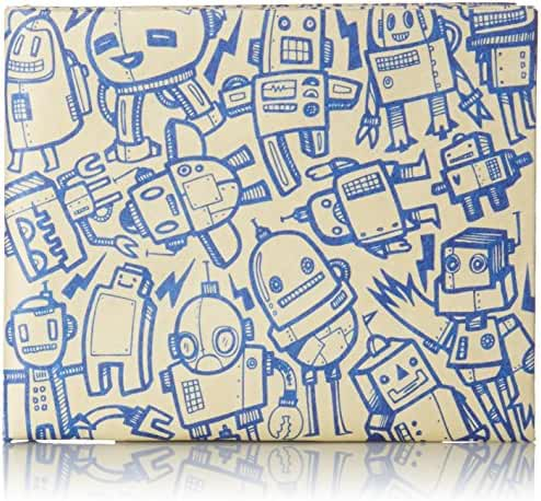 Dynomighty Men's All Of The Robots Mighty Wallet