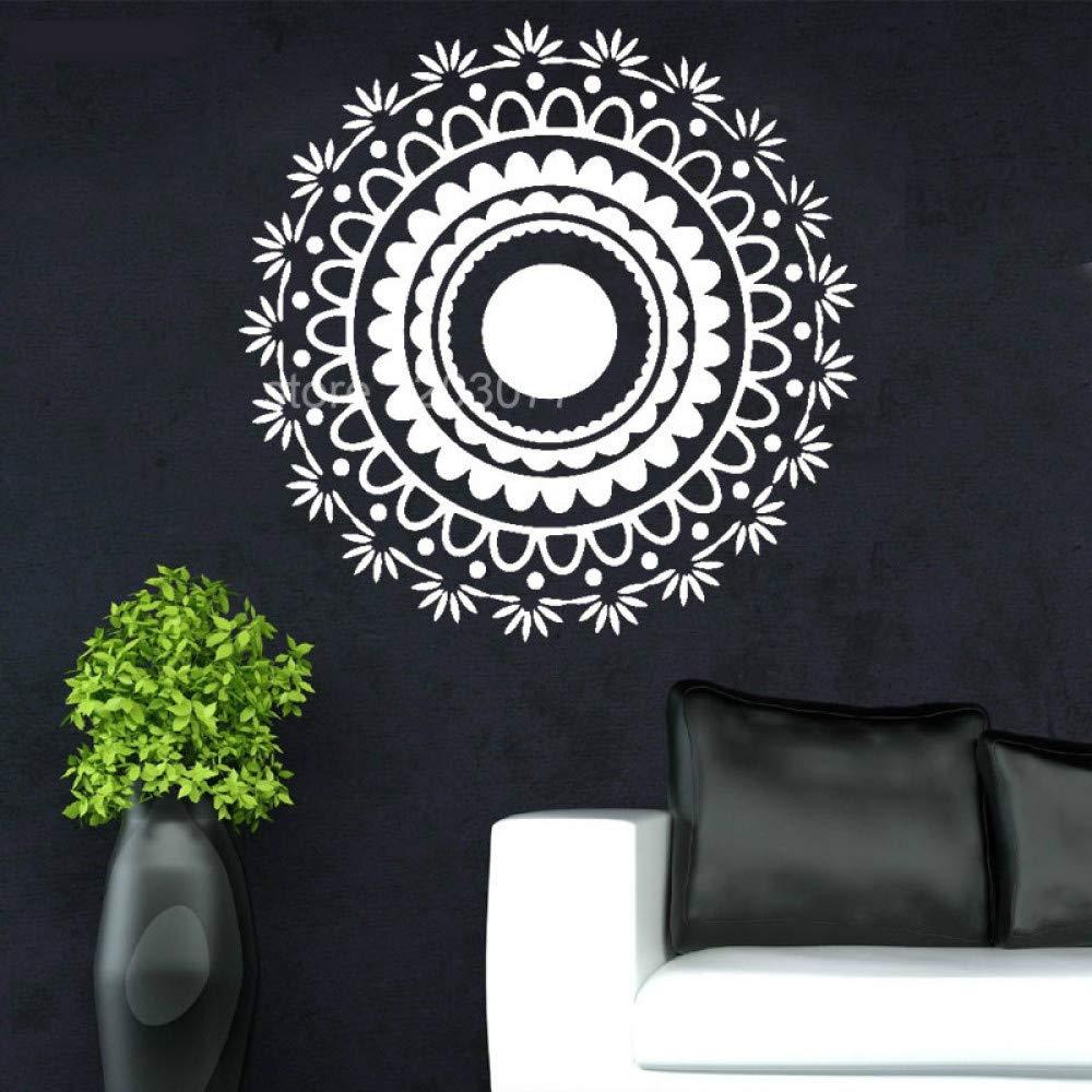 Familia Arte Tatuajes de Pared Mandala Yoga Applique Dormitorio de ...