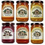 6-Jar Variety Pack: Marmalades & Conserves