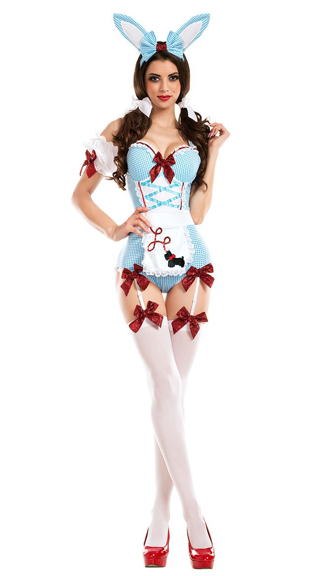 Party King Women's Kansas Cosplay Bunny Costume