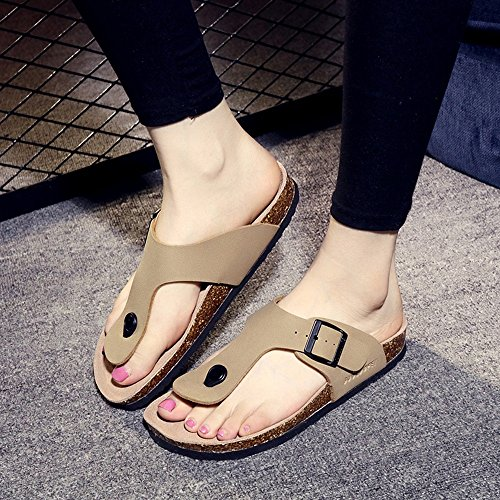 37 ciabatte D ZHANGRONG A grandi Colore dimensioni dimensioni Summer Lovers Fashion Pantofole Cork Slippers Sandals wFxOaOS0nq