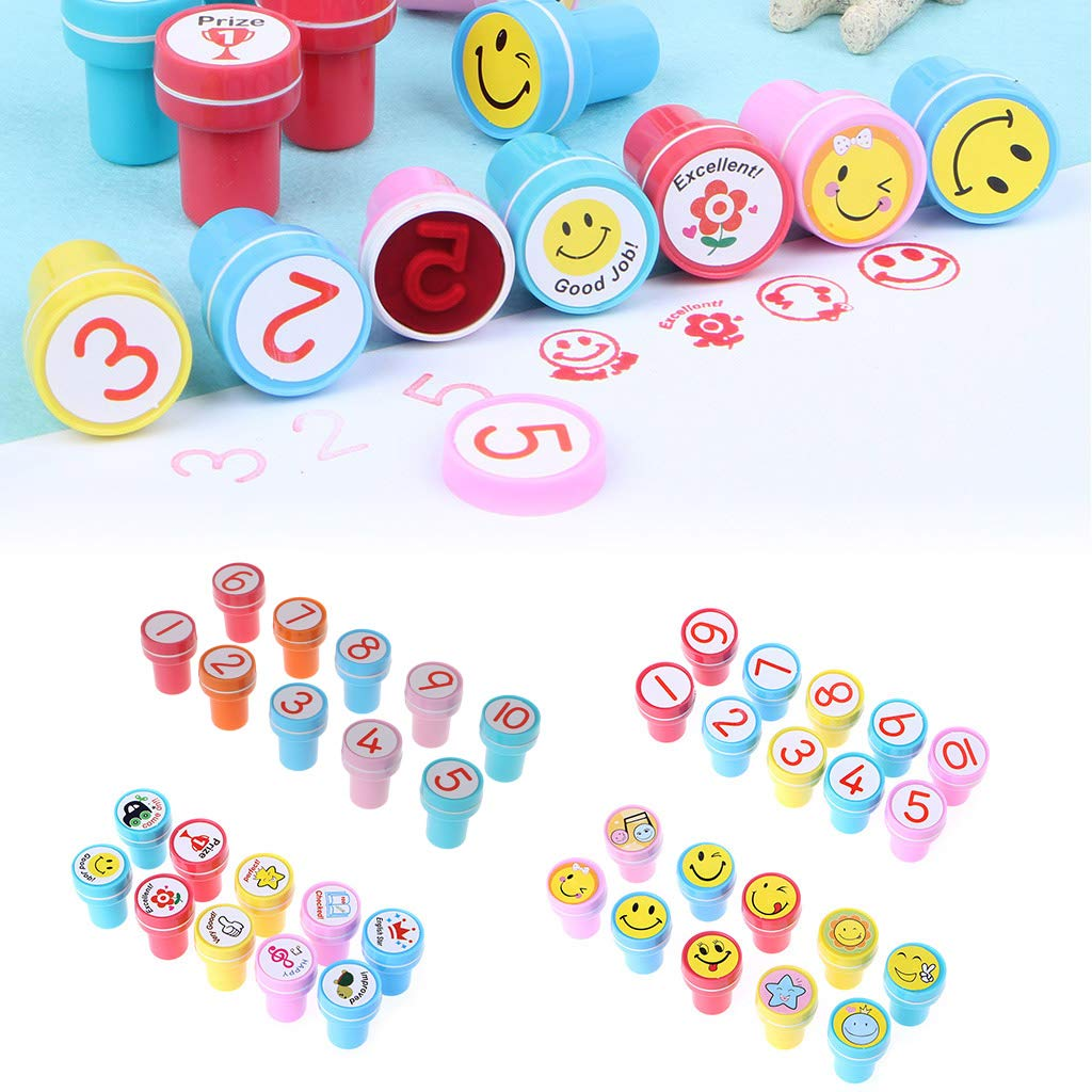 ZJL220 DIY Number Drawing Drawing Drawing Toy Craft Scrapbooking Stamp Seal Paper Decoration Gift B07MS7DWSF | Outlet Online Store