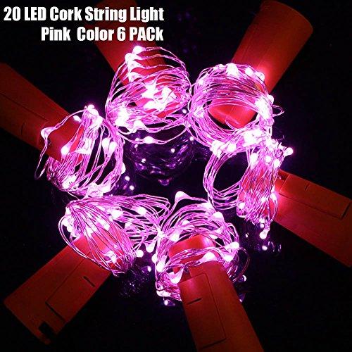 20LED LED Bottle Light Kit,2M String Starry Fairy Night D...
