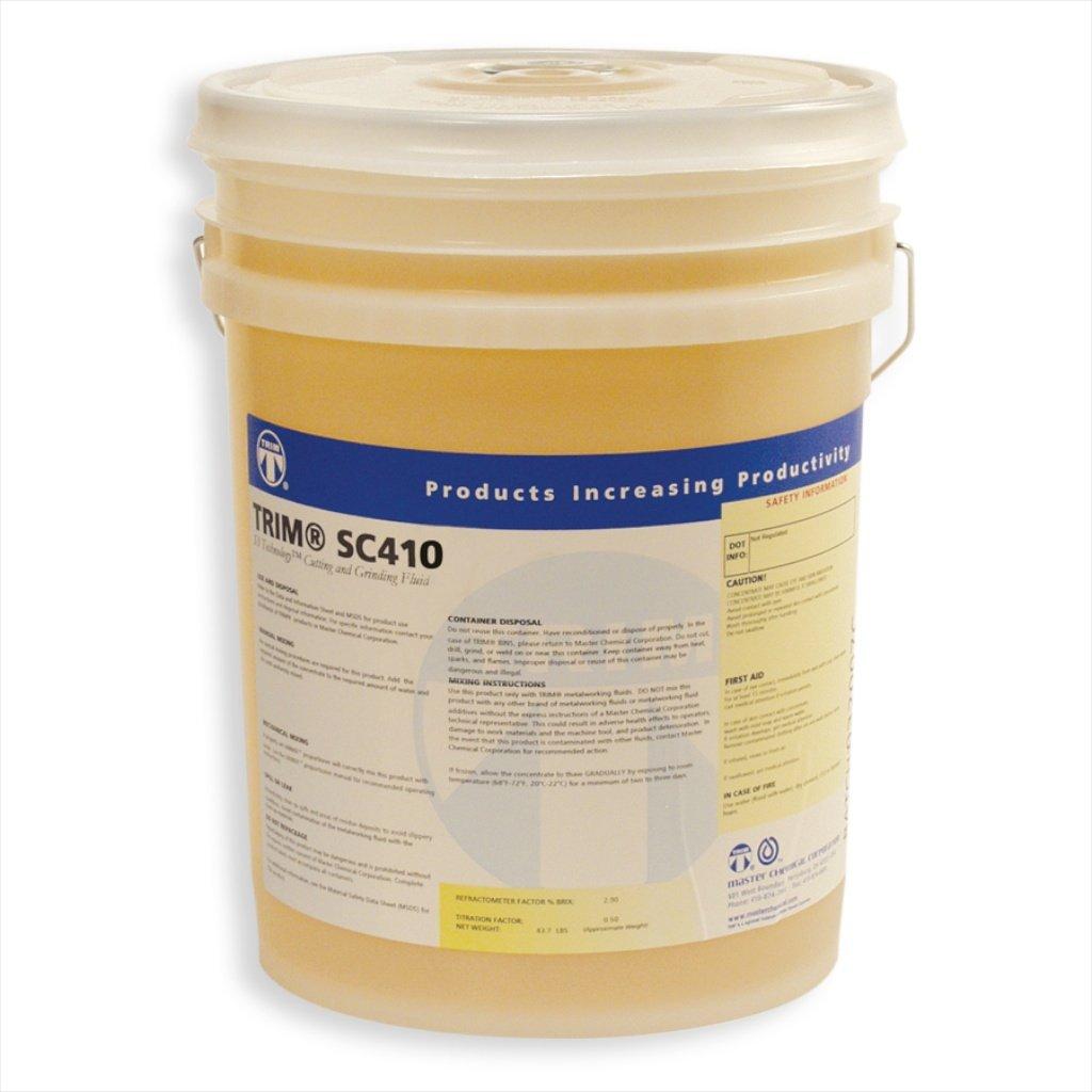 TRIM Cutting & Grinding Fluids SC410/5 Chlorine-Free Semisynthetic Coolant, 5 gal Pail