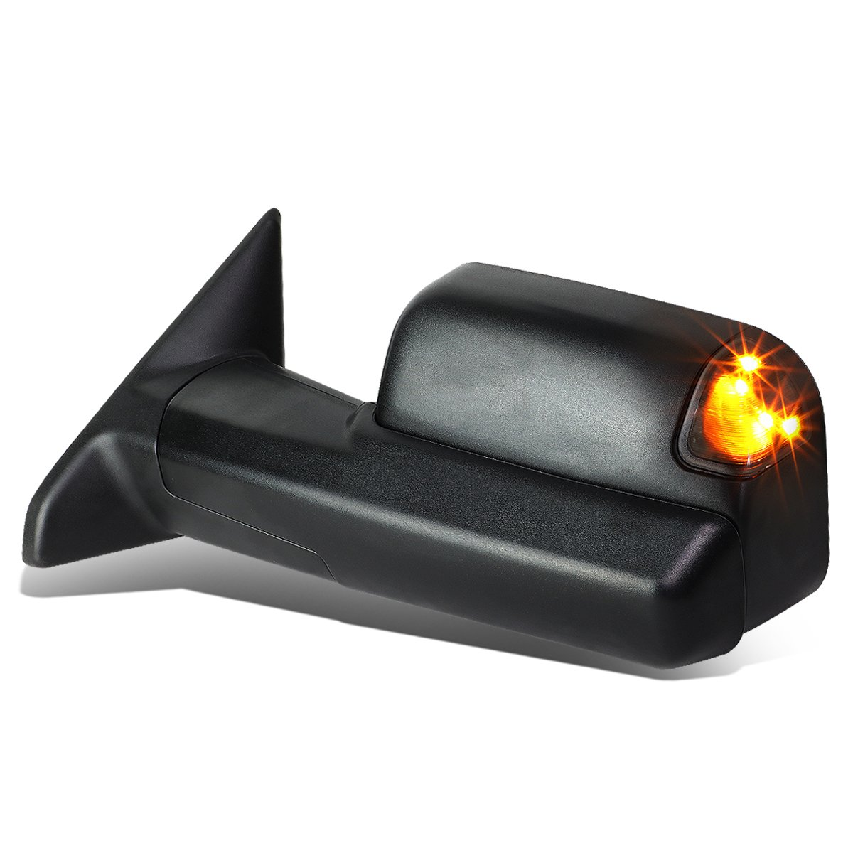 For Dodge Ram Powered+Heated+LED Turn Signal+Flip Up Tow Towing Mirror (Left/Driver) by Auto Dynasty
