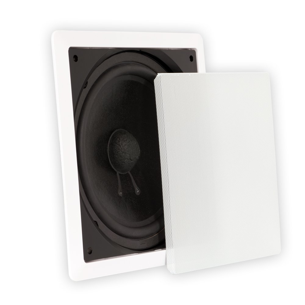 Theater Solutions TS1000 in Wall Surround Sound HD Home Theater Passive Subwoofer