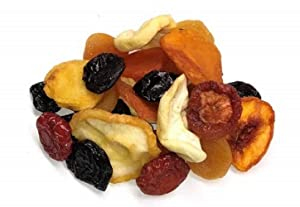 Fresh Quality Gourmet Dried Mixed Fruits | Enjoy a Great Burst of Multiple Juicy and Tasty Flavors | Packed with Nutrients | (5 LB) By Farm Fresh Nuts