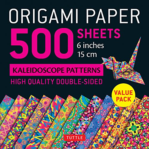Pdf Crafts Origami Paper 500 sheets Kaleidoscope Patterns 6' (15 cm): Tuttle Origami Paper: High-Quality Origami Sheets Printed with 12 Different Designs: Instructions for 8 Projects Included
