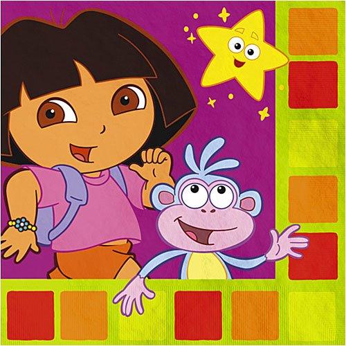 Dora Star Catcher Luncheon Napkins - 16