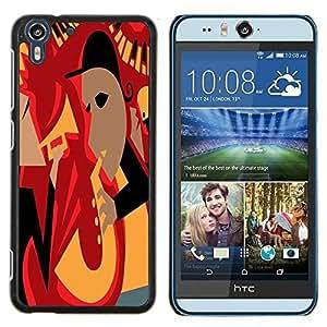 Dragon Case - FOR HTC Desire EYE M910x - there is just one you - Caja protectora de pl??stico duro de la cubierta Dise?¡Ào Slim Fit