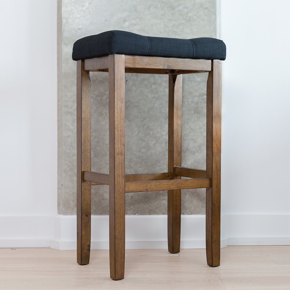Wood Kitchen Pub-Height Bar Stool ... & Bar Stools | Amazon.com islam-shia.org