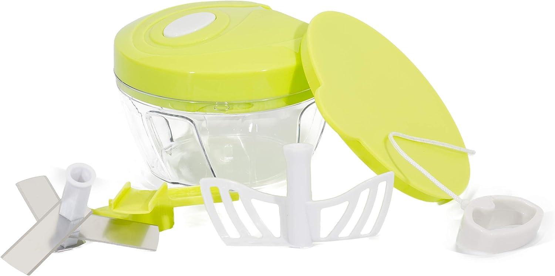 Compra Picador de cebollas Cortador de verduras Licuadora manual 3 ...