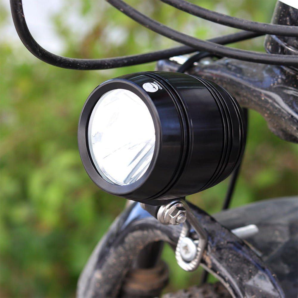 Amadoierly Bike Light Bike luz Estándar con el Botón Encendido y ...