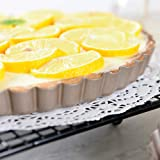 Bakerdream Tart Pan Removable Bottom, 8 Inch Tart