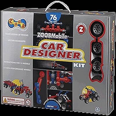 InfiniToy® ZOOBMobile®, Car Designer Set - Item #0Z12052