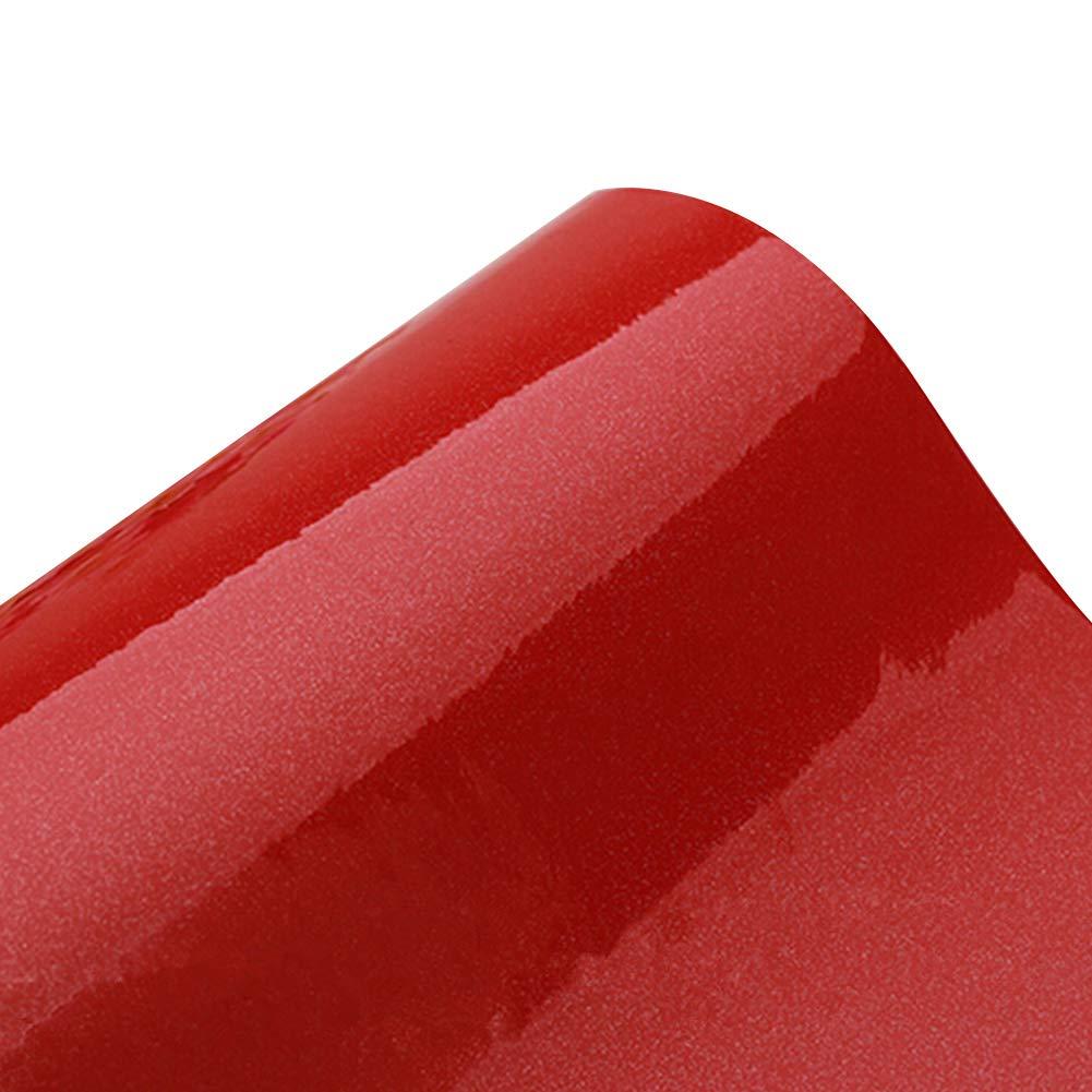 Yizunnu - Papier contact auto-adhésif de qualité supérieure pour plan de travail, dessus de placard, armoire, meubles - 60 cm x 245cm, Vinyle, Green, 24x98 Inch meubles - 60 cm x 245cm ZJL3GE