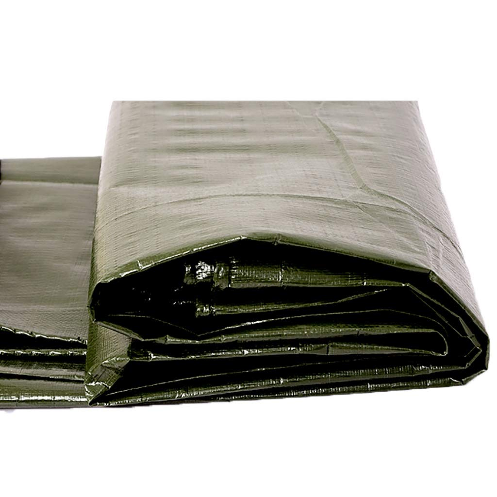 34m Thickened Poncho Tarpaulin Sunscreen Awning Cloth Outdoor Sunshade Cloth Tarpaulin Truck Tarpaulin Canvas (Size   3  4m)
