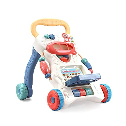 GUO@ Caminante De Bebé NiñO Trolley Toy Multi-FuncióN Anti ...