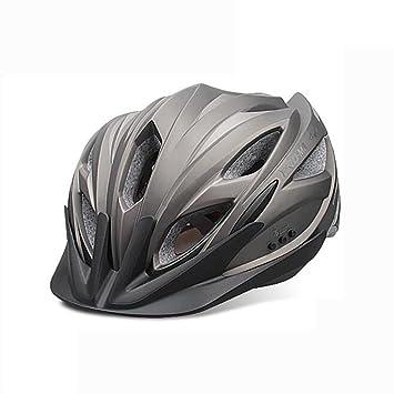 MIAO Bicicleta Casco-Exterior Súper Ligero Inteligente Un Moldeo Auriculares Bluetooth Cascos de Ciclismo Equipo