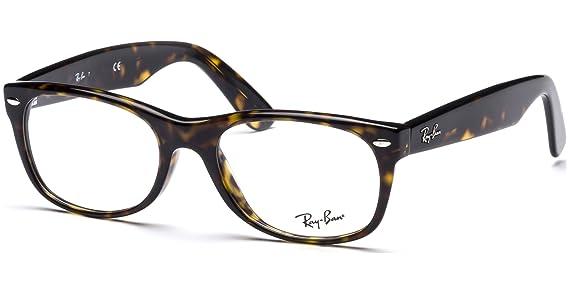 6baf6fd5600 Amazon.com  Ray-Ban RX5184 New Wayfarer Unisex Eyeglasses (Dark Havana  Frame 2012