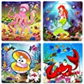 Wooden Jigsaw Puzzles For Kids Age 2 5 Year Old Animals Preschool Puzzles For Toddler Children Learning Educational Puzzle Toys For Boys And Girls Set Of 4 Puzzles