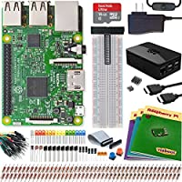 Viaboot Raspberry Pi 3 Ultimate Kit — Official Micro SD Card, Premium Black Case Edition