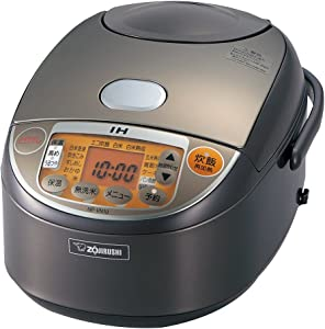 ZOJIRUSHI NP-VN10-TA 5-1/2-Cup (Uncooked) IH Rice Cooker and Warmer, 1.0-Liter