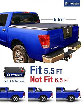 Tyger Auto TG BC3N1026 TRI FOLD Truck Bed Tonneau Cover 2004 2015 Nissan