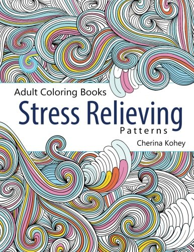 Adult Coloring Book Stress Relieving Patterns Amazonca Cherina Kohey Books