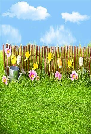 Amazon Com Yeele 5x7ft Spring Easter Eggs Photography Background