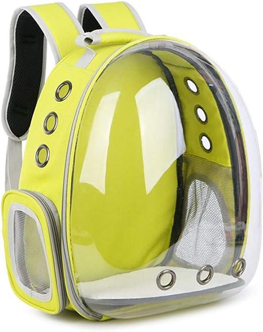 JEBBLAS Pet Capsule Carrier Astronaut Pet Cat Dog Puppy Carrier Travel Bag Space Capsule Backpack Breathable Cat Backpack: Amazon.es: Productos para mascotas