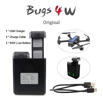 Amazon.com: MJX B4W Cargador USB MJX B4W 7.6V 3400 mAh ...