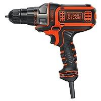 Deals on BLACK+DECKER Electric Drill, 3/8-Inch, 4-Amp BDEDMT