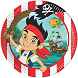Amscan 23cm Jake and Pirates Plates (Pack of 8)