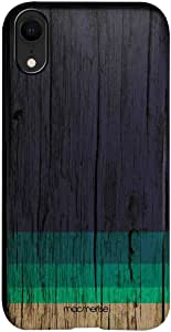 Macmerise IPCIXRPMI2298 Wood Stripes Blue - Pro Case for iPhone XR - Multicolor (Pack of1)