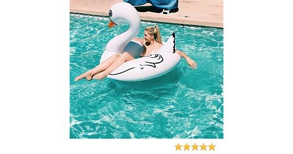 Beach Toy ® - Flotador gigante para piscina de Cisne Blanco ...