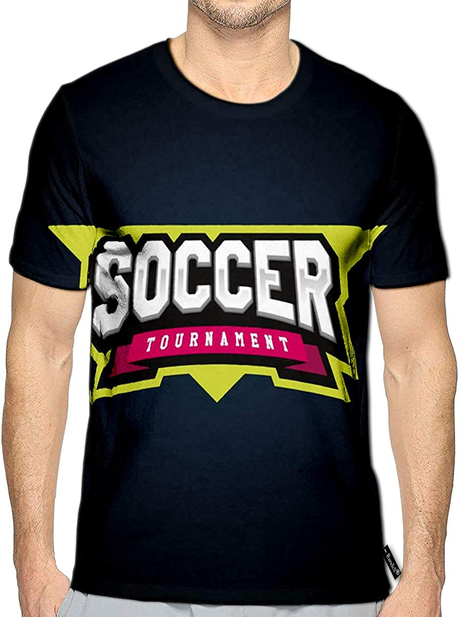 3D Printed T-Shirts Soccer Football Power Full Awesome Sport Short Sleeve Tops T