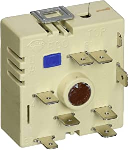NEW 12002125 Range Dual Burner Element Control Switch Compatible for GE, Whirlpool, Bosch made by OEM Parts Manufacturer, 4456027, 00422133-1 YEAR WARRANTY
