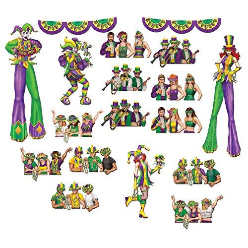Mardi Gras Reveler Props Party Accessory (1 count)