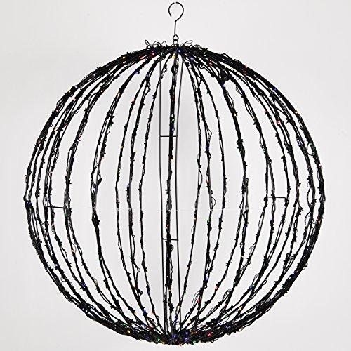 Wintergreen-Lighting-LED-Light-Ball–IndoorOutdoor-Christmas-Light-Balls-Light-Spheres-OutdoorSphere-Light-Fold-Flat-Metal-Frame