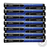 SET OF 9 Or 13 WINN DRITAC AVS MIDSIZE BLACK/BLUE GOLF GRIP