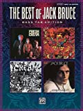 jack staff - The Best of Jack Bruce (Authentic Bass Tab Editions)